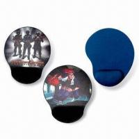 Wholesale Mouse Pads with Arm Rest, Made of Neoprene and Cloth, Measures 220 x 180 x 2mm from china suppliers
