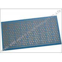 Buy cheap Blue Adhesive Shale Shaker Screen , 1181 X 712mm Size Sand Dewatering Screen from wholesalers