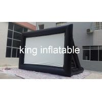 Wholesale Outdoor Inflatable Movie Screen / Projection Screen For Home Yard Or Advertisement Display from china suppliers