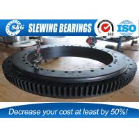 Wholesale High Performance Rotary Table Bearing , Large Ball Bearings For Wind Turbines from china suppliers