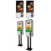 Wholesale Custom Interactive Touch Screen Kiosk , Self Service Food Kiosk For Restaurant from china suppliers