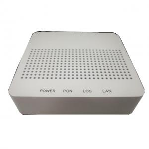 Wholesale OEM ODM White Color WiFi EPON VOIP ONU 1GE Mini FTTH GPON ONU Modem Mini from china suppliers
