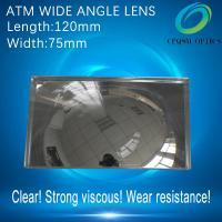 Wholesale ATM wide angle reflect fresnel lens back mirror speculum Cash Machine 120X75mm from china suppliers