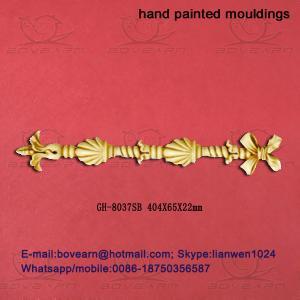 High density delicate pu veneer pu accessories / PU Wall hanging decoration