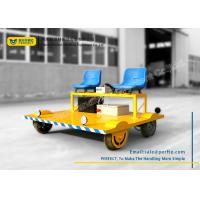 Wholesale Lithium Battery Pack Powered Rail Transfer Cart with Seats , Running Speed 0 - 30 km/h from china suppliers