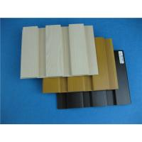 Buy cheap Colorful Wood Plastic Composite Wall Cladding Wood Look Exterior Cladding from wholesalers