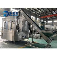 Wholesale Energy Efficient Beverage Filling Machine Washing , Filling , Capping Function from china suppliers