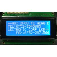Wholesale 4 x 20 Characters LCD display SSC4A20DLNW-E P-S4A20CT-E1 WHITE LED side backlight from china suppliers