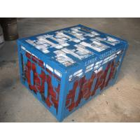 China High Cr White Iron Wear-resistant Castings Liners Packaged by Steel Pallet on sale