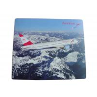 Quality High Definition Print Aviation Industry Promotional Mouse Pads With Anti Slip for sale