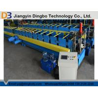 Wholesale High Automatic Rain Gutter Forming Machine , Roof Panel Roll Forming Machine from china suppliers
