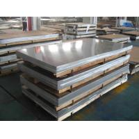 China 310S Stainless Steel Flat Plate , Stainless Steel Square Plate Round Edge Design on sale