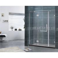 Wholesale Customized 8MM Tempered Glass Shower Door 304 Stainless Steel Swing Hinge Bathroom from china suppliers