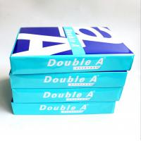 Wholesale Double A Highest Super White 70 80 GSM Double A A4 Paper Copy Paper from china suppliers