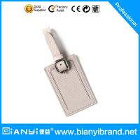 Wholesale China factory supply high quingity soft leather luggage tag from china suppliers