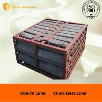 Wholesale High Toughness Ni Hard Liners , Steel Mine Mill Liner Freed Head Long Service Life from china suppliers