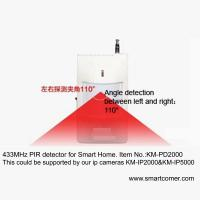 Wholesale Sensitive detector,wireless pir motion detector for home security camera system from china suppliers