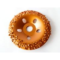 China Wood / Stone Grinding Diamond Tungsten Carbide Abrasive Disc 5 Inch OEM / ODM on sale