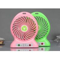Wholesale Red / Green Plastic Portable USB Fan With Charger , Mobile Phones Accessories from china suppliers
