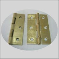 Wholesale Normal  Electric Bass Commercial Kitchen Door Hinges  Fixed Pin Bright Brass Color from china suppliers