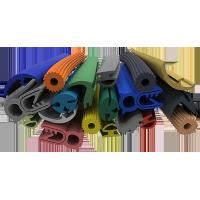 Wholesale Multi Color Silicone Extruded Rubber Profiles Chemically Extremely Stable from china suppliers
