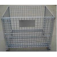 Wholesale Storage Cage,Wire Mesh Container,Supermarket Mesh Container,Mesh Basket,50x50mm,50x100mm opening from china suppliers