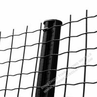 Wholesale Electro Galvanised Wire Mesh Panels Green Powder Coating With Barb Top from china suppliers