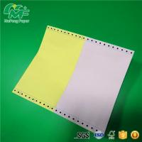 Wholesale Oem Odm Computer Form Paper , Tractor Feed Computer Paper Customized Size from china suppliers