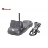 Buy cheap Commercial Black Case Induction Charging Wireless 2D Barcode Scanner from wholesalers