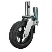 China 6 Inch Caster Wheels Hollow Tube Work With Exterior Scaffold Unit on sale