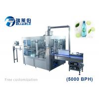 Wholesale SUS304 Automatic Carbonated Beverage Filling Machine For 2L Plastic Bottles from china suppliers