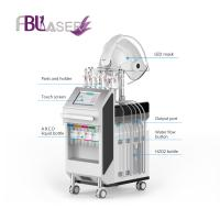 Wholesale 2019 LED Oxygen Mask 10 in 1 Hydra Dermabrasion Facial Skin Rejuvenation Beauty Machine from china suppliers
