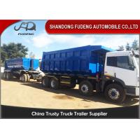 Wholesale Tipper Draw Bar Trailer  For Agricultural Goods , Dumping TrailersWith Tow Bar from china suppliers