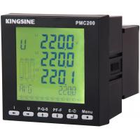 Wholesale High Performance Multifunctional Power Meter , 90 - 260 VAC PMC200 from china suppliers