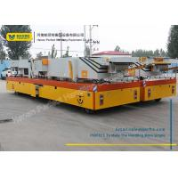 Wholesale 200 Ton Die Transfer Cart Cement Shunter Trolley Motorized Heavy Transporter from china suppliers