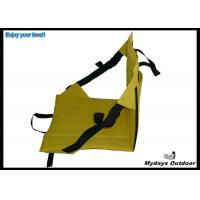 Buy cheap yellow portable custom stadium cushions easy carrying oxford