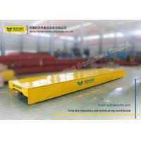 Quality Motorized Rail Cart / Material Transfer Cart Steel Mill Applied Electric for sale