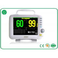 China Single / Double IBP 6 Multi Parameter Patient Monitor For Adult / Pediatric / Neonate on sale