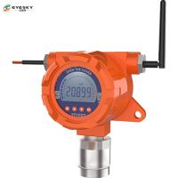 China Wireless  Gas Detector/ hydrogen sulfide detector / gas monitoring instruments  / alarm status on sale