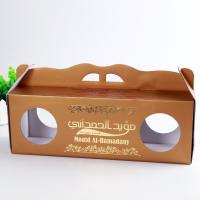 Wholesale Gloss Varnish Custom Corrugated Boxes Height Weight Capacity Flexible With Window from china suppliers