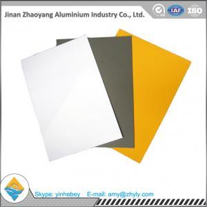 1100 0.5mm Pre Painted Aluminium Alloy Sheet Aluminium Plate For Electronics