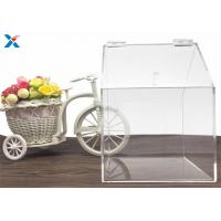 Wholesale Modern Clear Acrylic Packaging Box Candy House Shape For Retail Stores from china suppliers