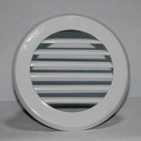 China Air conditioning round ventilation aluminum wall return air grille louver vent on sale