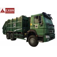 Wholesale Turbo Chargingwaste Compactor Truck , 12SBM Garbage Truck With Compact from china suppliers