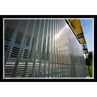 exterior decorative slotted hole perforated metal panel