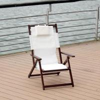 Wholesale Wholesale outdoor solid beech wooden folding chair beach from china suppliers