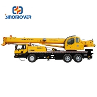 Wholesale 25 Ton 43.2m 75km/H Hydraulic Mobile Truck Crane from china suppliers