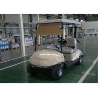 Pure Electric Road Legal 2 Seater Golf Carts With Solar Panel For Golf Courses