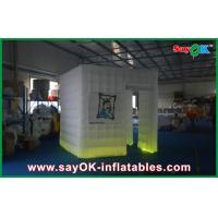 China Event Decorative Inflatale Lighting Photo Booth Equipment for Rental on sale