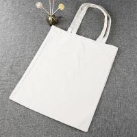 China Handheld Style Reusable Canvas Bags , Personalized Canvas Tote Bags on sale